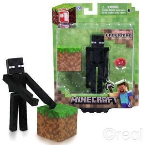 Minecraft Core Enderman Action Figure New Toys Kids Video Game Gift Creature