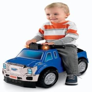 Kids Ride on Toy FisherPrice Power Wheels Ford Super Duty Pickup New Car Gi
