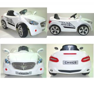 New 12V Mercedes Style Kids Ride on Car with Remote Control