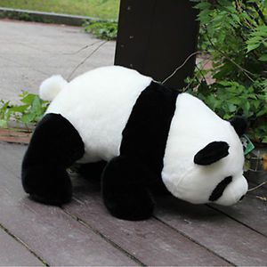 L Size 32cm Panda Stuffed Animal Plush Doll Baby Kids Toy Gift Soft Comfortable