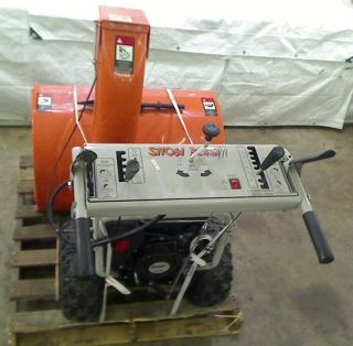 Snow Beast 36 in Commercial Duty Two Stage Electric Start Gas Snow Blower