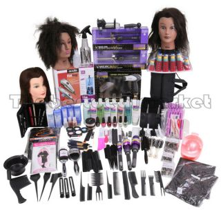 Cosmetology Barber School Student Starter Kit Suitcase with Manikin 6 US Seller