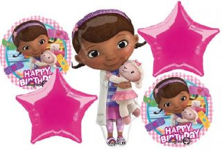Disney Doc McStuffins Birthday Party Balloons Bouquet Supplies