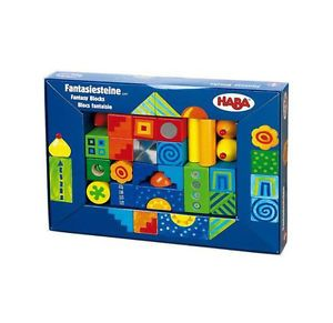 Haba Fantasy Blocks of Wood Childrens Toys Kids Children Wooden Pieces Toy s New