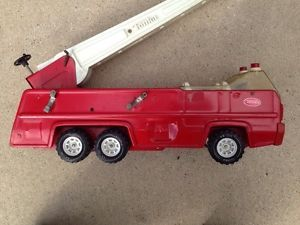 Vintage Large Tonka Metal Steel Fire Truck Children Collectible Toy 13201 32202