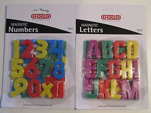Magnetic Numbers and Letters Alphabet for Kids Toys