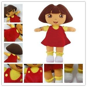 "New 12"" Dora The Explorer Kids Girls Soft Cuddly Stuffed Plush Toy Doll"