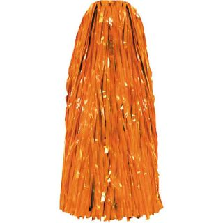 Orange Cheerleading Pom Poms Costumes Roll Play Party Supplies