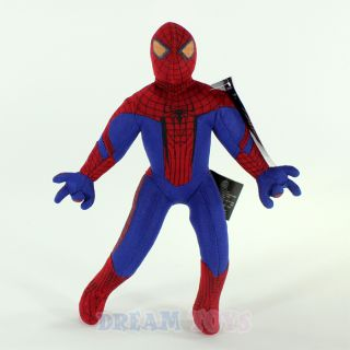 "Marvel Amazing Spider Man 9"" Mini Plush Doll Extra Small Stuffed Toy Spiderman"