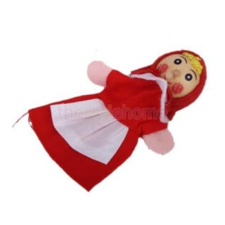 2 Sets Finger Puppets Little Red Riding Hood and Mermaid Story Telling Kids Toy