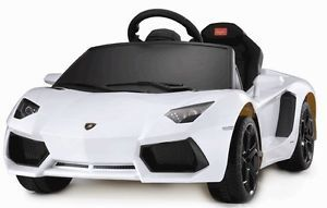 Lamborghini Aventador Battery Kids Ride on Toy Electric Children Car w Remote