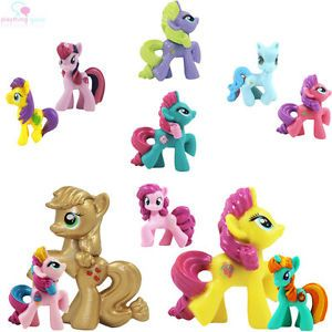 My Little Pony Collection Pony Figures Friendship Is Magic PVC Kid Toys
