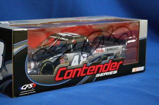 Jeff Hardy Autographed Die Cast NASCAR DVD Truck
