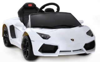 Battery Powered Ride on Toy Car Luxurious Lamborghini Aventador