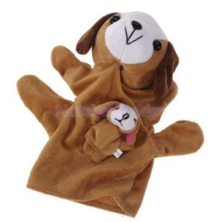 Set of 6 Style Animal Shape Hand Puppet Finger Puppet Kids Children Learning Toy