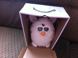 Furby 2012 White Kids Interactive Electronic Pet Toy UK Seller