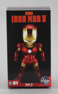 Kids Logic Marvel Iron Man 3 Mini LED Mark III MK3 Figure Pendant