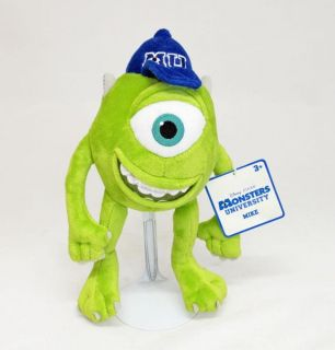 Disney Pixar Monsters Inc University Mike Soft Plush Toy Monsters Inc Licensed