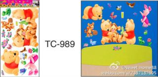 Winnie The Pooh Removable Wall Stickers