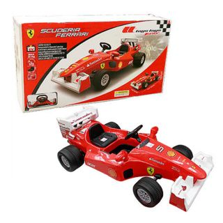 Ferrari Electric Car Kids F 1 Formula Ride on Racing Toy 6 Volt Drive Children