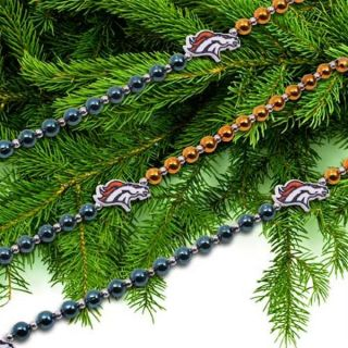 "Denver Broncos Official 72"" Team Logo Christmas Garland"