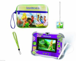 Vtech InnoTab 3S Bundle Disney Fairies Kids Educational Game WiFi Tablet
