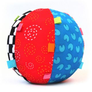 Baby Toddler Kids New Soft Small Bell Educational Cloth Ball Developmental Toys