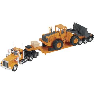 New Ray Die Cast Truck Replica Kenworth W900 w Front Loader 1 32 Scale SS 11295