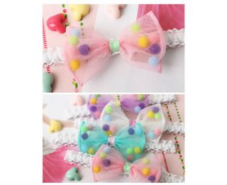 Cute Baby Toddler Kids Girls Princess Headband Hairband Bow Accessories 4 Type