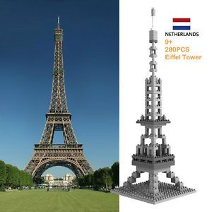 New Eiffel Tower Model Toy Mini Building Blocks Baby Kids Children's Toys 280 PC
