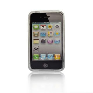 New Generic TPU Rubber Case for Apple iPhone 4G White