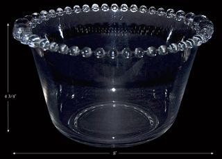 Imperial Candlewick Crystal 400 63 Large Ice Bucket Tub
