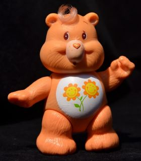 "Loose Vintage Kenner Friend 1983 Care Bear 3"" Poseable Action Figure Only"