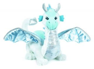 Webkinz Ice Dragon Soft Plush Toy Unused Code New