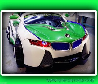 BMW i8 Ride on Toy Kids Car 12V Battery Operated Remote Control Power Wheels