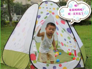 Baby Kid Toddler Portable Popup Play House Tent Playhouse Toy Outdoor Indoor