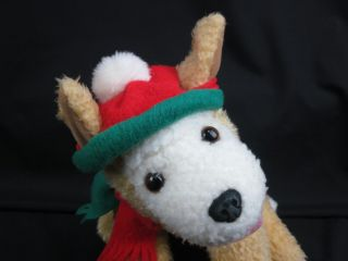 Fabulous Hallmark Plush Christmas Dog Nikki Stuffed Animal Puppy Holiday Toy
