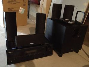 Onkyo HT R380 Home Theater Speaker System