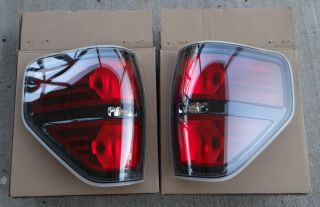 2009 Ford F150 Harley Davidson FX4 Black Tail Light Housings