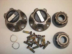 Jeep Warn 27 Spline Locking Hubs for Dana 30 Axle