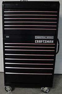 Black Craftsman Heavy Duty Industrial Tool Box Storage
