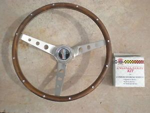 Grant 3294 Wood Steering Wheel Installation Kit Ford Mustang