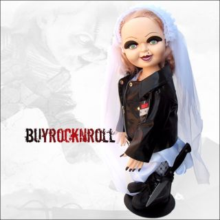 "2012 Bride of Chucky 26"" Tiffany Plush Doll New Life Size Horror Figure Prop"