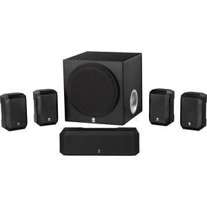 New Unopened Box Yamaha NS SP1800BL 5 1 Channel Home Theater Speaker System