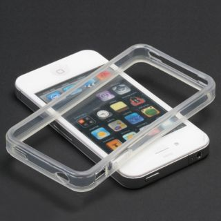 Clear Bumper Candy Case Cover Apple iPhone 4 Verizon