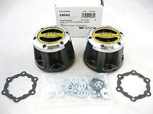 Warn 29062 Premium 4WD Manual Locking Hubs Jeep CJ M38A1 Willys Dana 30