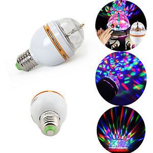 RGB LED Light Bulb Lamp