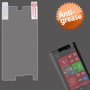 Anti Grease LCD Screen Protector Cover Film for Nokia LUMIA928 Laser
