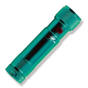 Bitzer Laser Pointer LED Flash Light All in One 35 Lumens Green Aluminum 150GRN