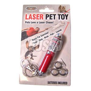 Pet Laser Chaser Dogs Cats Lazer Key Chain Keychain Pointer Dog Cat Red Dot